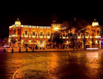 نورپردازي ميدان حسن آباد تهران
