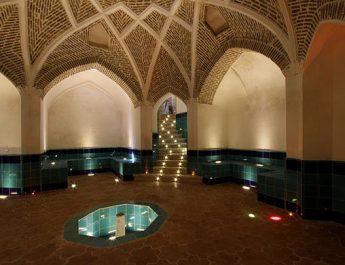 معماری حمام های تاریخی ایران