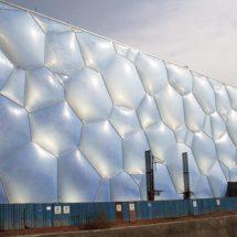 زیبایی شناسی سیال حباب ها،بالشتک های ETFE